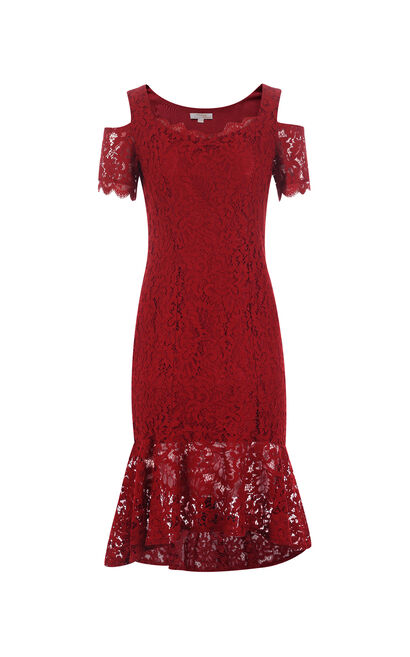 HEIDI S/S DRESS(VMC-HH), Red, large