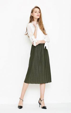 Vero Moda Women's Vintage Pleated Skirt|31811G512