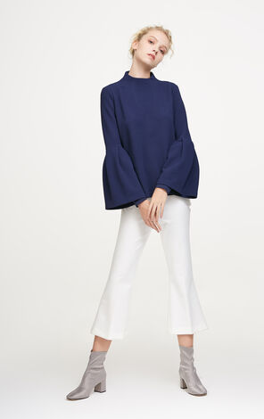 Vero Moda Two-tiered Flare Sleeves Tops|317402519