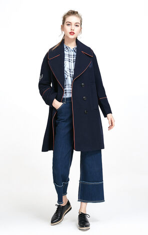 ATTA L/S WOOL COAT(CP)