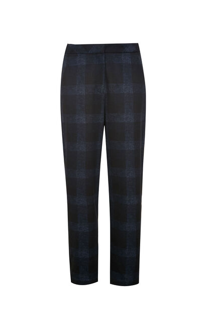 Vero Moda Women Plaid Capri Pants 319374501, Blue, large