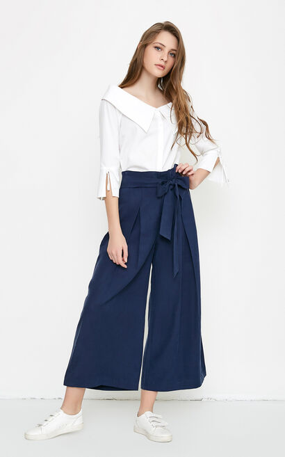 MARIO 9/10 WIDE PANTS(VMC-NR), Blue, large