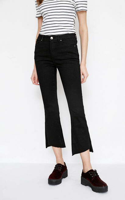 ABLE 7/8 MW SB JEANS(NR), Black, large