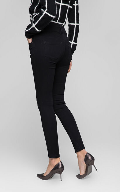 CREAM 9/10 HW X-SLIM JEANS(UM), Black, large