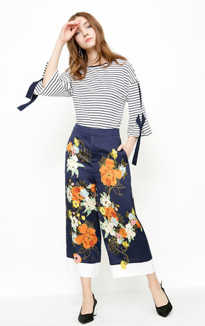 GUISELLE 7/8 STRAIGHT PANTS(VMC-NN)
