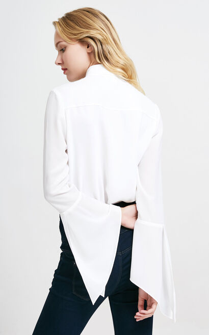 PETAL L/S SHIRT(VMC-CP), White, large