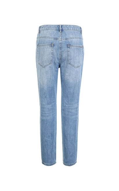 DOODLE 9/10 MW MICRO CARROT JEANS(CP), Light blue, large
