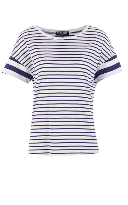 MALLY S/S TOP(MM), Blue, large