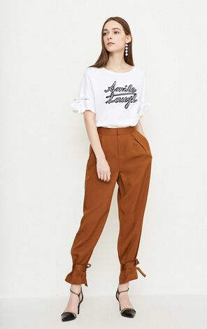 Vero Moda ZEBULON SOFT 9/10 CARROT PANTS(VMC-BJ)