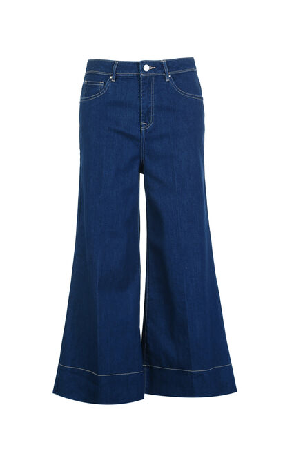 Vero Moda ESSENCE 7/8 HW FASHION FIT JEANS(SL), Blue, large