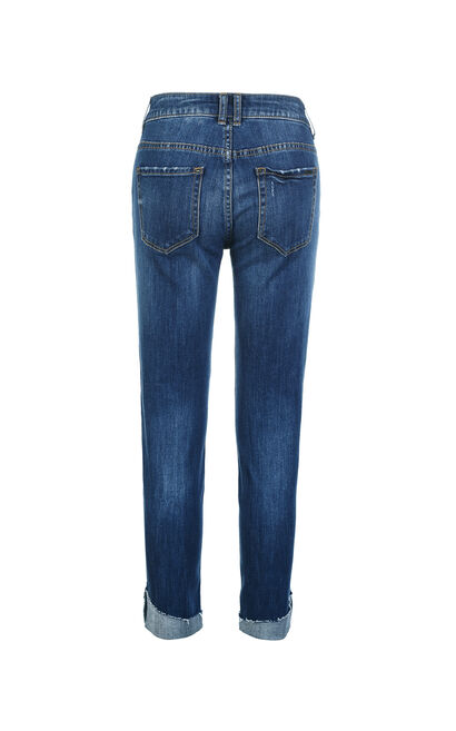 FOAMING 7/8 LW SLIM JEANS(NN), Blue, large