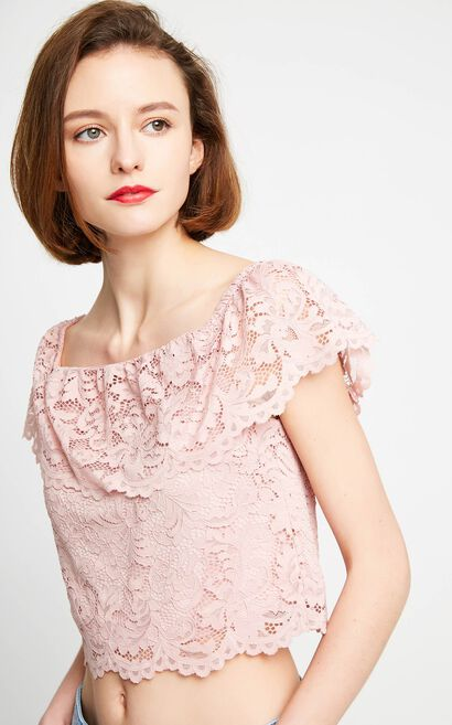VERA S/S TOP(HH), Pink, large