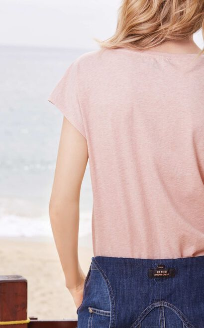 AMAIZING S/S TOP(MM)-OR, Pink, large