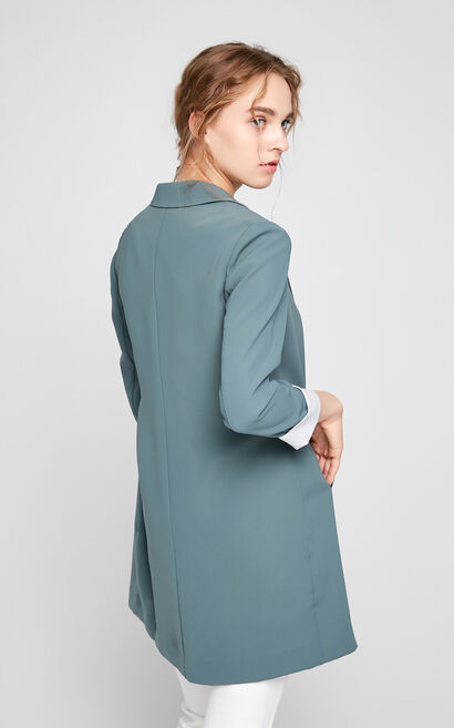 Vero Moda Fit one-button placket business suit 317308508, Army Green, large