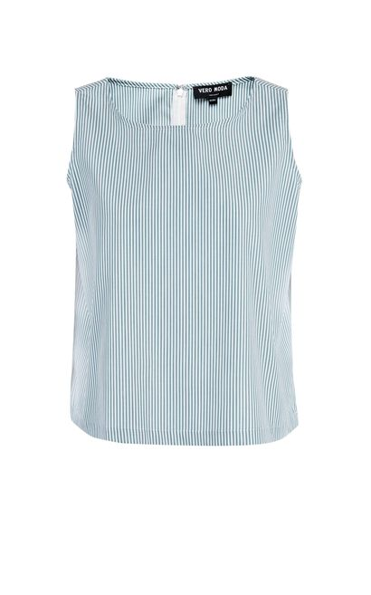 Vero Moda Striped Sleeveless Top|31726Y501, Green, large