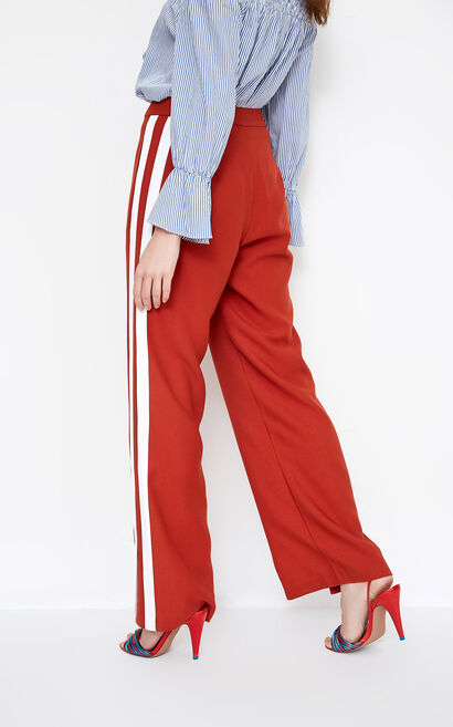 Vero Moda RAE LOOSE PANTS(SL), Red, large