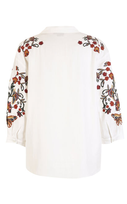 SABAN 3/4 TOP(NR), White, large
