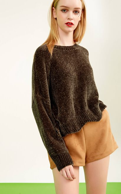 HANS L/S KNIT(NR), Green, large