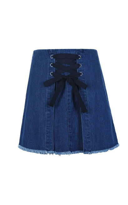Vero Moda RISE HW DENIM SKIRT(NN), Blue, large