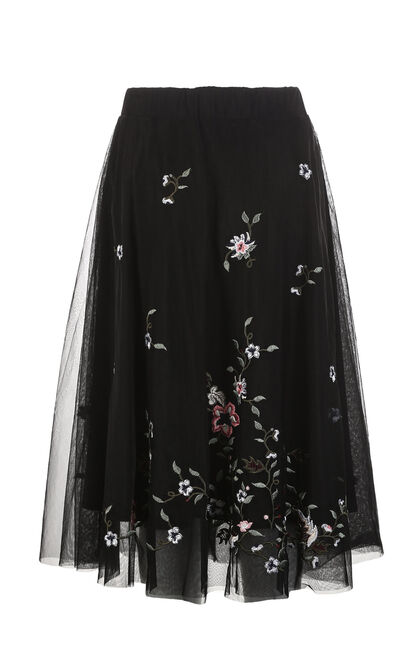 MERIDA JERSEY SKIRT(VMC-NR), Black, large