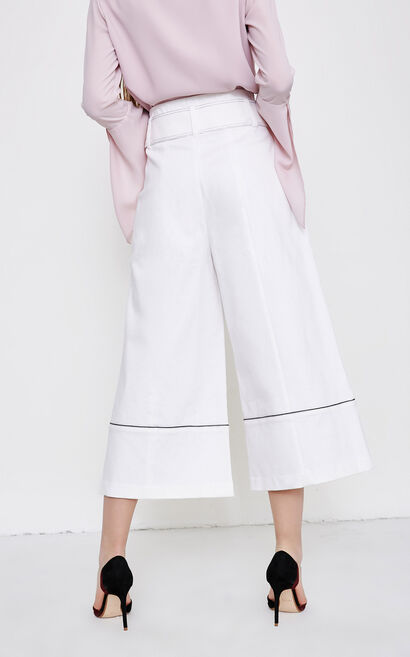 EMPTY 9/10 HW LOOSE JEANS(NC), White, large