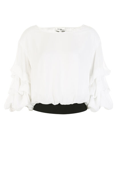 KYNA 1/2 TOP(VMC-SL), White, large