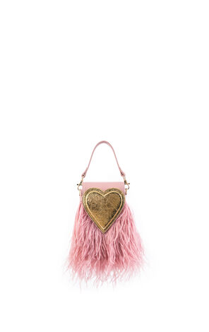 Vero Moda 2019 Women's Heart-shape Plumy Handbag Knapsack |319285531