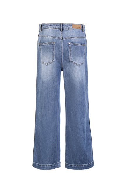 QUICKEN 9/10 HW LOOSE JEANS(SL), Blue, large