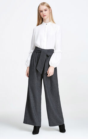 Vero Moda OL Style Wide-leg Leisure Pants|317426502