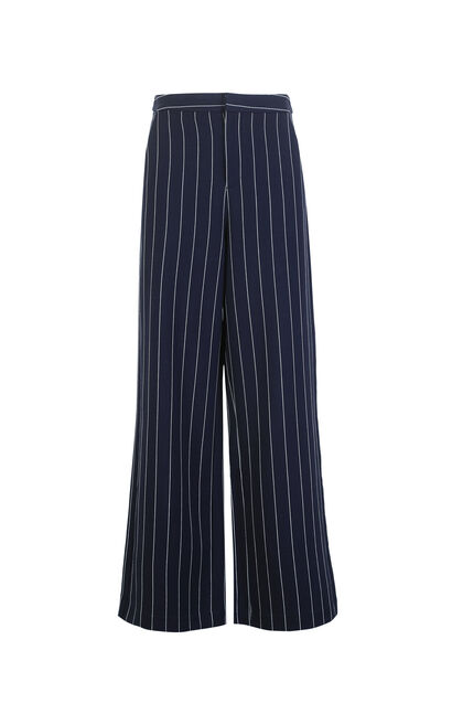 Vero Moda Women's Striped Wide-leg Casual Pants|3181PL505, Aqua, large