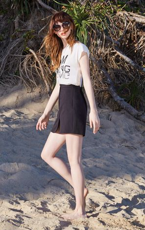AMAIZING S/S TOP(MM)-OR