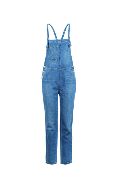 FLY BOYFRIEND DENIM CATSUIT(MM), Blue, large