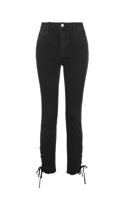 TONIC 7/8 MW SLIM JEANS CL14(FL), Black, large