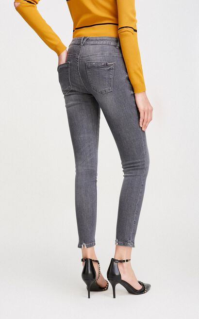 LEAVES 9/10 LW X-SLIM JEANS(NC), Light Grey, large