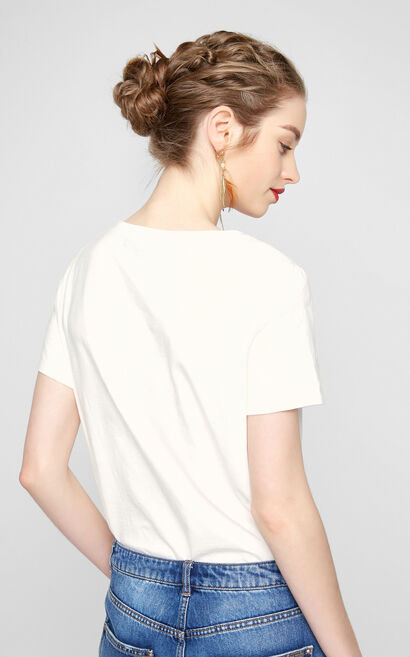 ROSIE S/S TOP(TP), White, large