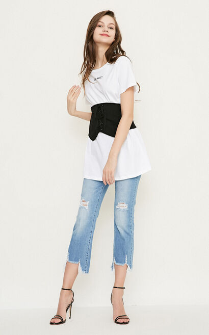 Vero Moda WENDY S/S TOP(SL), White, large