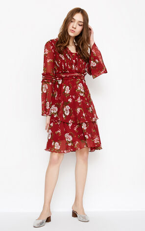 SCARLET L/S DRESS(VMC-NN)