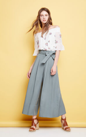 SOFT 7/8 LOOSE PANTS(SD)