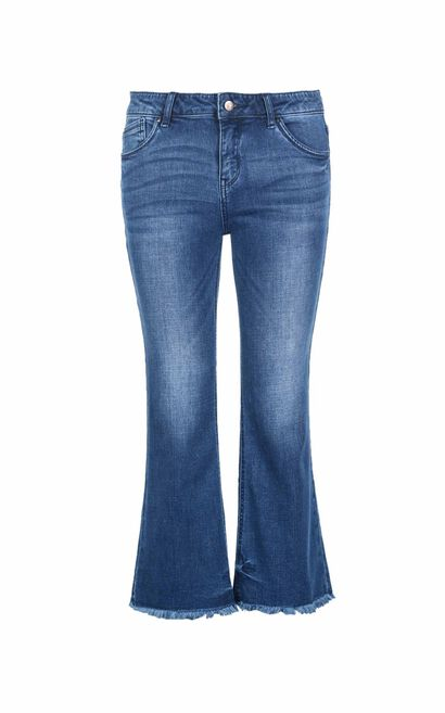 FLOWER 7/8 SB JEANS(HH), Blue, large