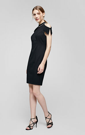 QUEEN S/S JERSEY DRESS(VMC-HH)