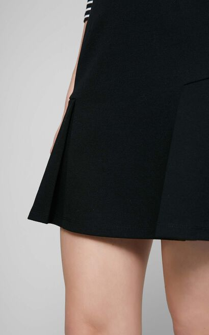 NIKITA JERSEY SKIRT(HH), Black, large