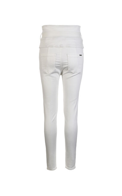 ROMANTIC 9/10 HW X-SLIM JEANS(NR), White, large