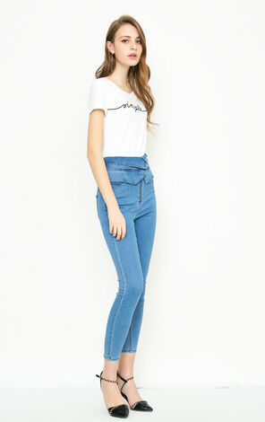 ROMANTIC 9/10 HW X-SLIM JEANS(NR)