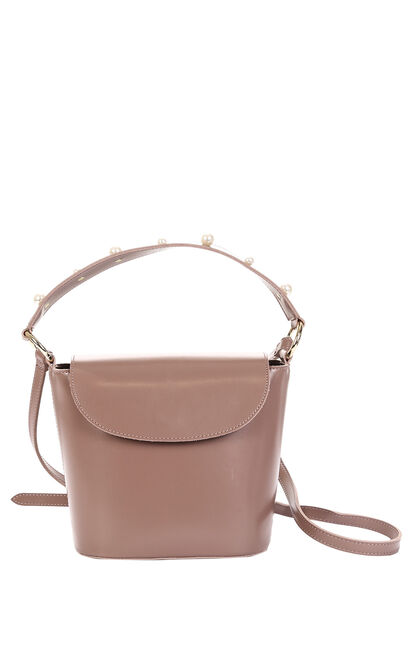 LYNN BAG(BJ), Peach, large