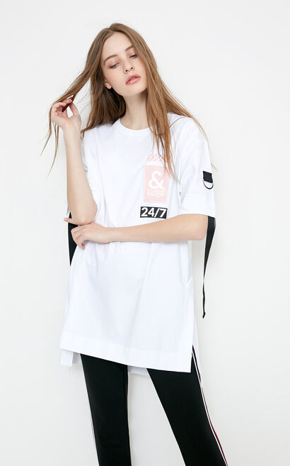 NONGFU S/S TOP(SL), White, large
