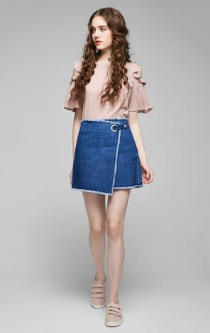 DOCTOR DENIM SKIRT(TP)