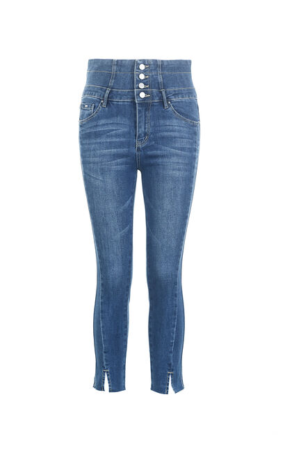 STUDIO 7/8 HW X-SLIM JEANS(UC), Blue, large