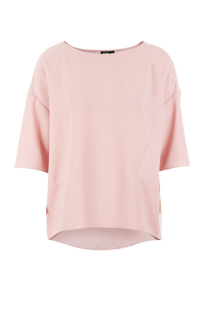 IRENE 1/2 TOP(MM)-OR, Pink, large