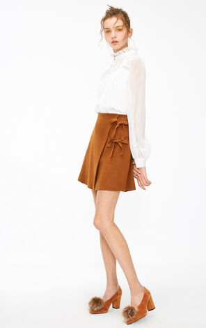 KARINE KNIT SKIRT(DR)
