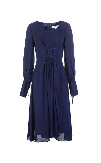 LOUISE L/S DRESS(VMC-SL), Blue, large